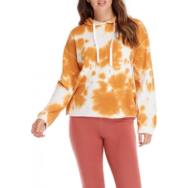 New Directions® Women's Studio Long Sleeve Washed Pullover Hoodie