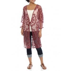 Wonderly Junior's Lace Kimono