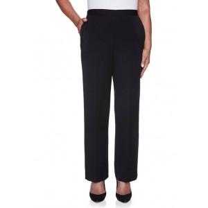 Alfred Dunner Women's Catwalk Twill Pants- Short