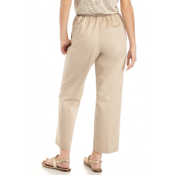 Alfred Dunner Women's Cottage Charm Proportion Pants