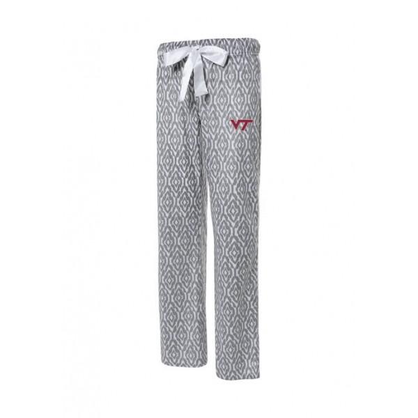 Concepts Sport NCAA Virginia Tech Hokies Silky Fleece Pants