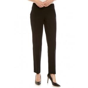 Crown & Ivy™ Ashley Bi Stretch Straight Leg Pull On Pants