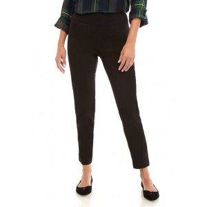 Crown & Ivy™ Women's Pull On Tech Stretch Solid Pants