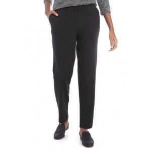 EMILY DANIELS Women's Pull On Straight Pants- Average
