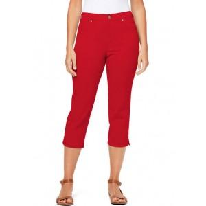 Gloria Vanderbilt Women's 5 Pocket Capri Pants