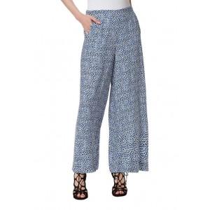 Jessica Simpson Wide Leg Printed Pants