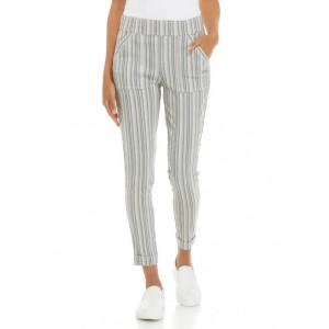 SOHO APPAREL Women's Millennium Porkchop Stripe Pants