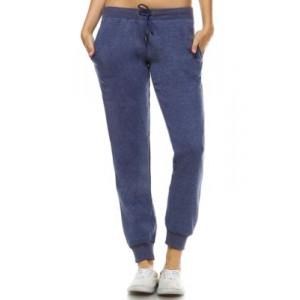 White Mark Women's Amazingly Soft Jogger Pants